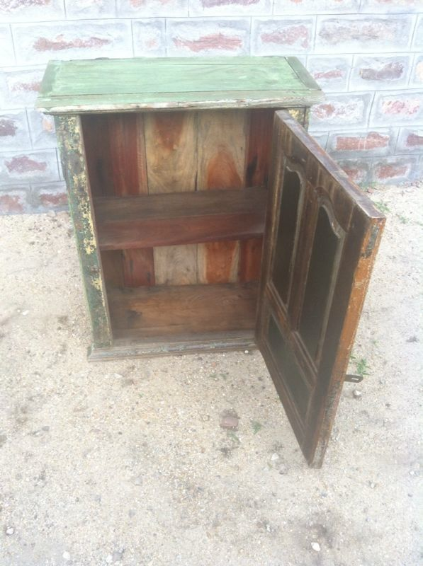 Small Teak Antique Cabinet - Baba One Of A Kind